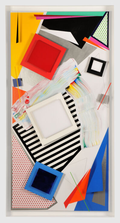 Pedro Sandoval, 'Intersección (Lichtenstein as pretext)', 2015