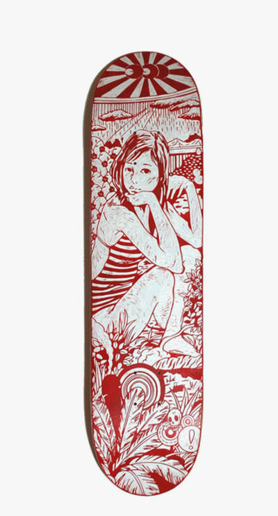 Kenichi Yokono, 'Skateboard Girl', 2010