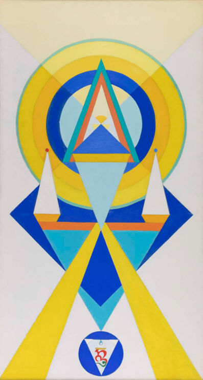 Charmion von Wiegand, 'To The Adi Buddha', 1968-1970