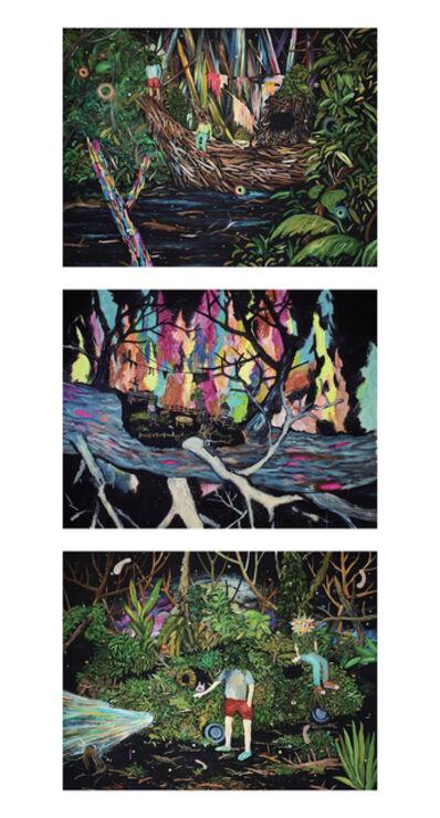 Yuichi Hirako, 'Memories of My Garden (I, II, III)', 2012