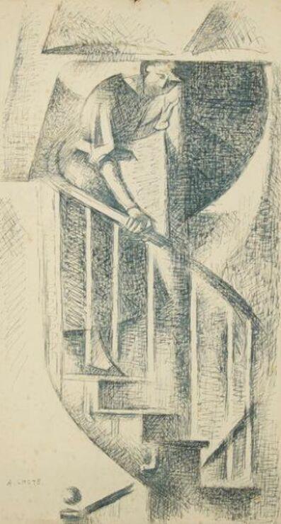 André Lhote, 'Femme descendant un escalier', ca. 1925