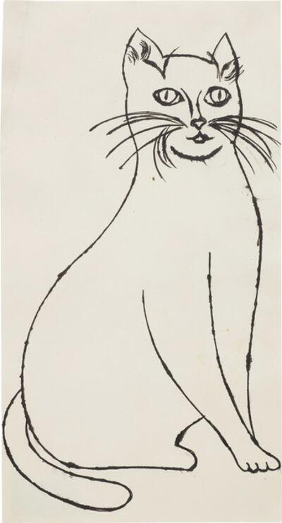 Andy Warhol, 'Sam Sitting', circa 1955