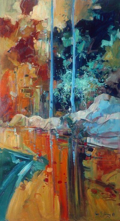 Ken Strong, 'Blue Accompaniment', 2014