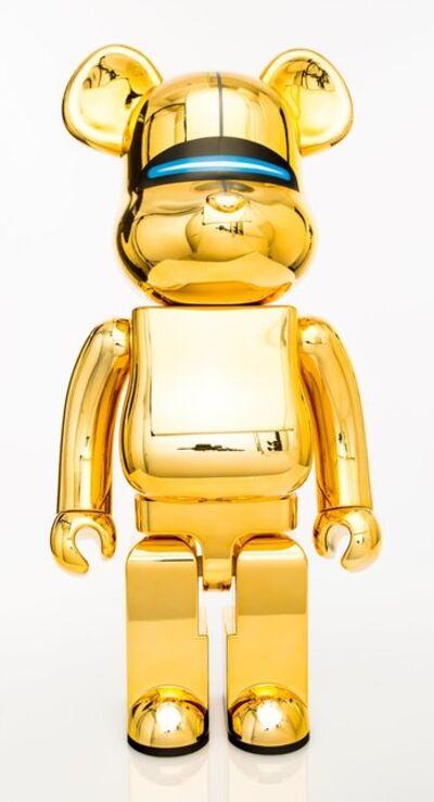BE@RBRICK X XLARGE X Hajime Sorayama, 'Robot (Gold)', 2018