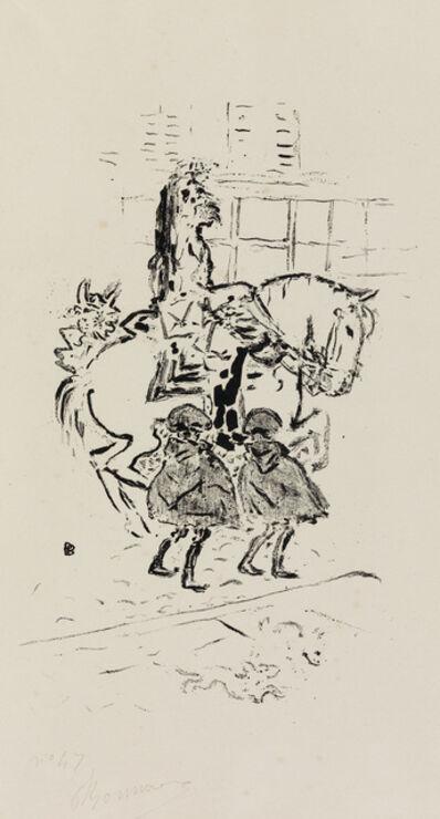 Pierre Bonnard, 'Garde Municipal.', 1893