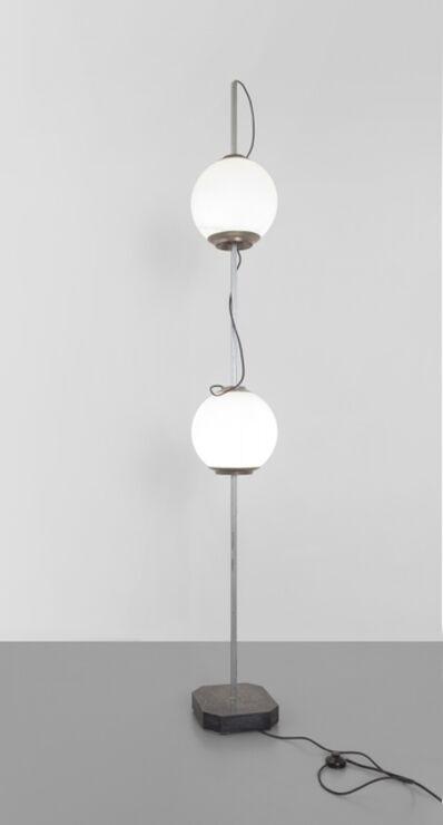 Luigi Caccia Dominioni, 'A 'doppio Pallone da terra' (LTE10) floor lamp', 1958