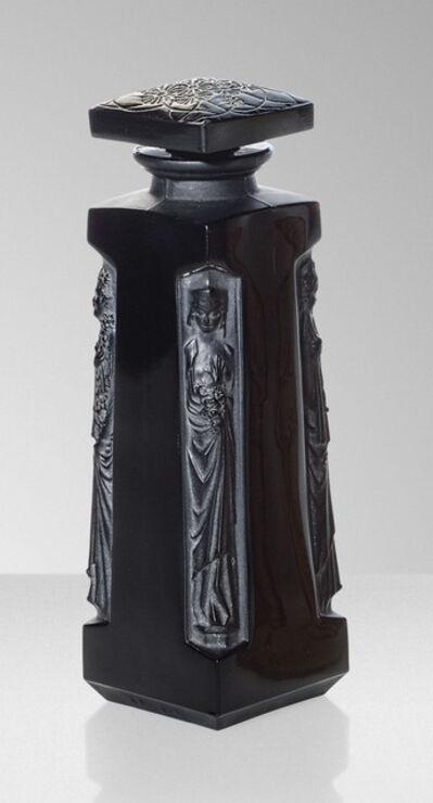 René Lalique, ''Ambre d'Orsay', a d'Orsay - 2 scent bottle', designed 1914
