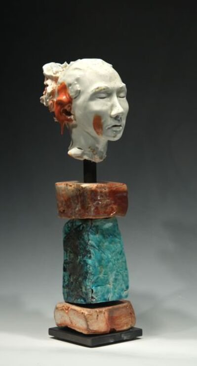 BOB CLYATT, 'Noborigama Woman Red Drip on Ear', 2014