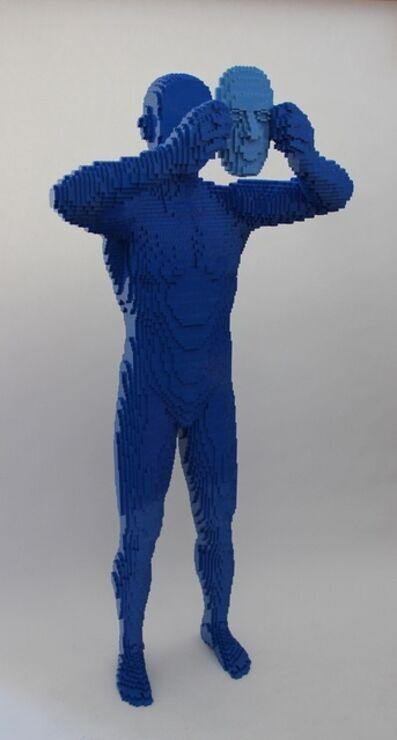 Nathan Sawaya, 'Blue Mask', 2011