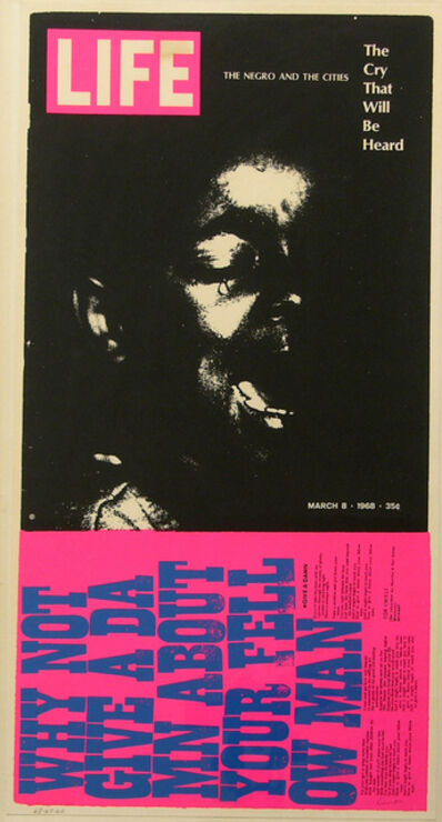 Corita Kent, 'the cry that will be heard', 1965