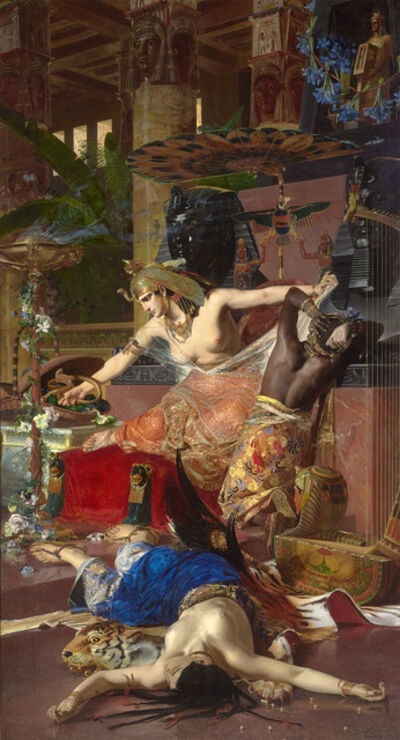 Julius Kronberg, 'Cleopatra', 1883
