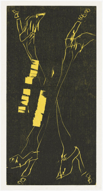 Georg Baselitz, 'Avanti', 2016