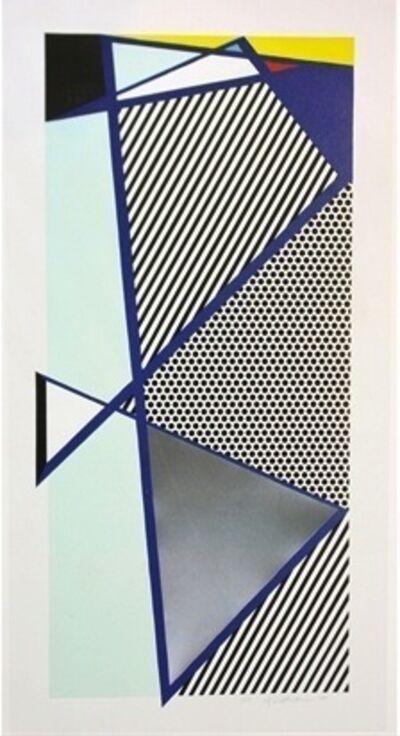 Roy Lichtenstein, 'Imperfect Print for B.A.M.', 1987