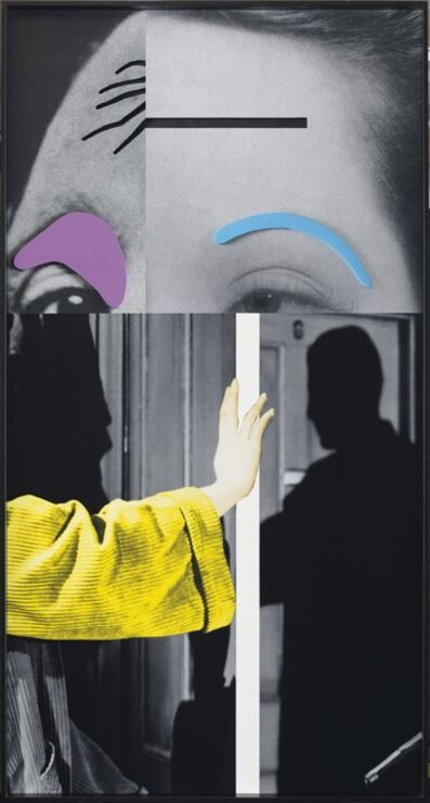 John Baldessari, 'Raised Eyebrows', 2009