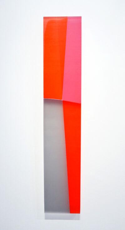 Michelle Benoit, 'Oblique Weave, Orange', 2019