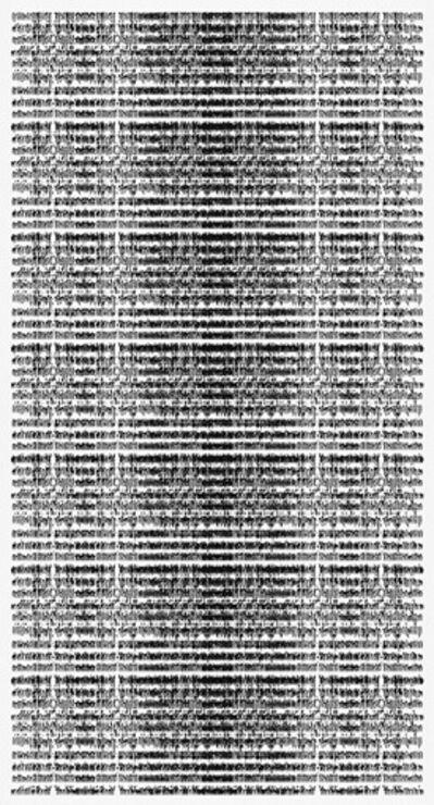 Michal Rovner, 'Ink (text)', 2018