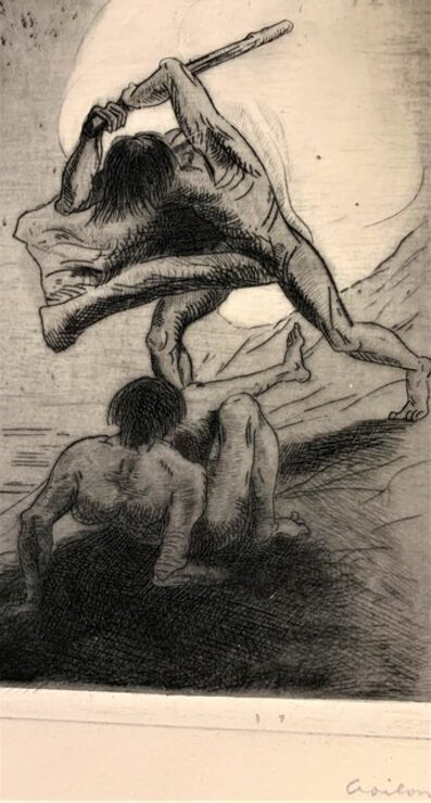 Odilon Redon, 'Cain & Abel', 1896