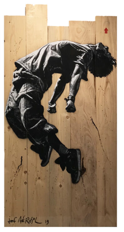 Jef Aérosol, 'Jumping man', 2020
