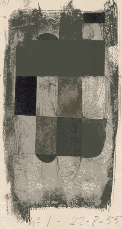 Juan Batlle Planas, 'Abstracción', 1955