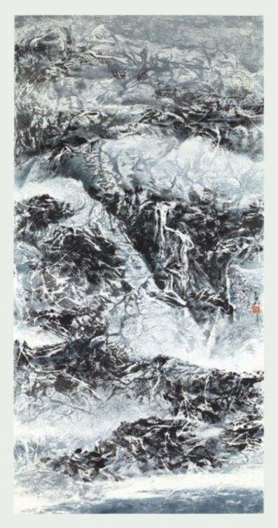Liu Kuo-sung 刘国松, 'Dazzled by the Fairy Mountain', 2017