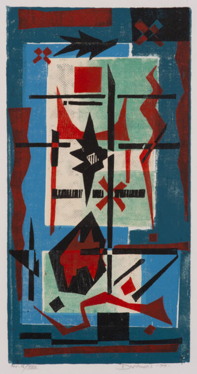 Werner Drewes, 'Acrobatics Angular', 1974