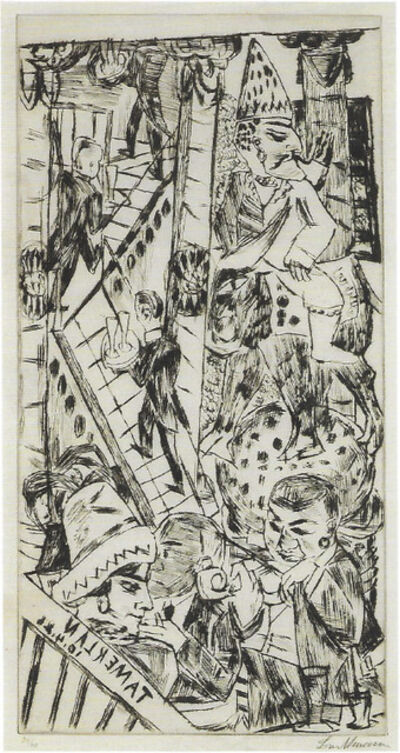 Max Beckmann, 'Tamerlan', 1923