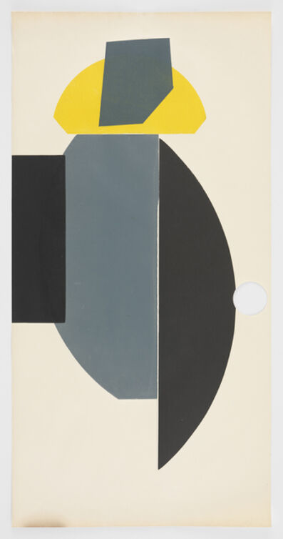 Austin Thomas, 'Hole Yellow Black Gray', 2016