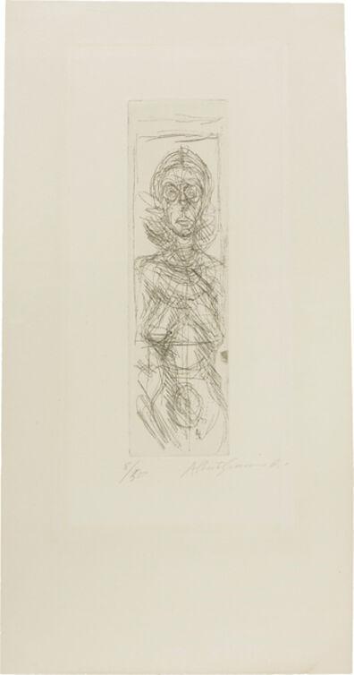 Alberto Giacometti, 'Annette de face (Annette Facing Front)', 1955