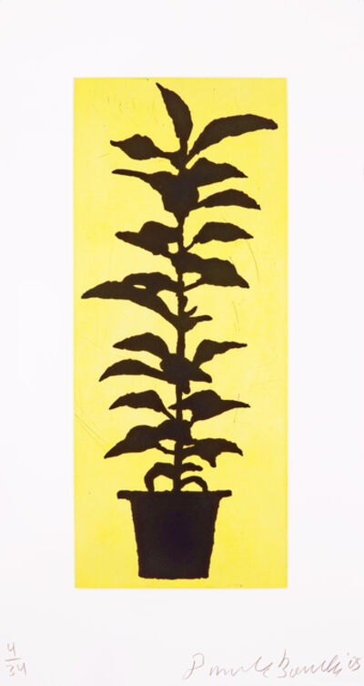 Donald Baechler, 'Potted Plant', 2005