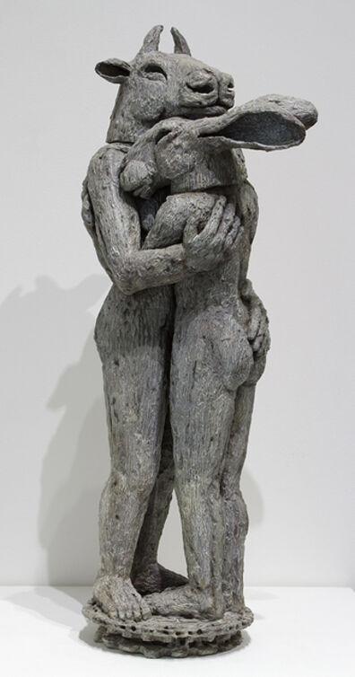 Sophie Ryder, 'Hugging, Maquette', 2008