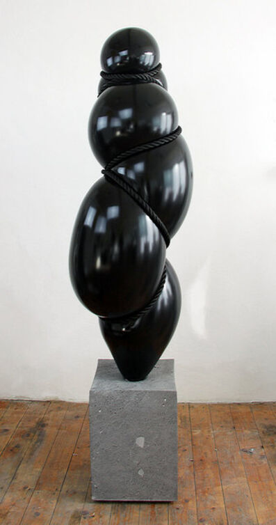 "Stephan Marienfeld, 'Blow Up II - Bonze schwarz (""Geisha"")', 21st century"