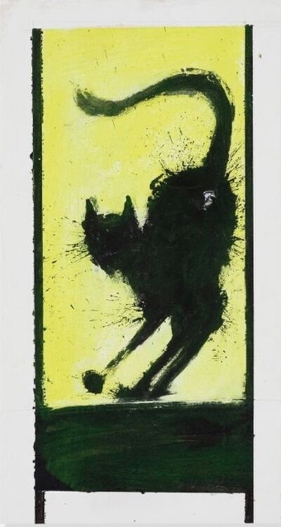Richard Hambleton, 'Shadow Cat', 2004