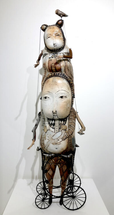 Robin & John Gumaelius, 'Piggyback RIde', 2018