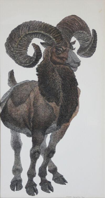 Oliver Fetterolf Grimley, 'Mountain Goat', 1970