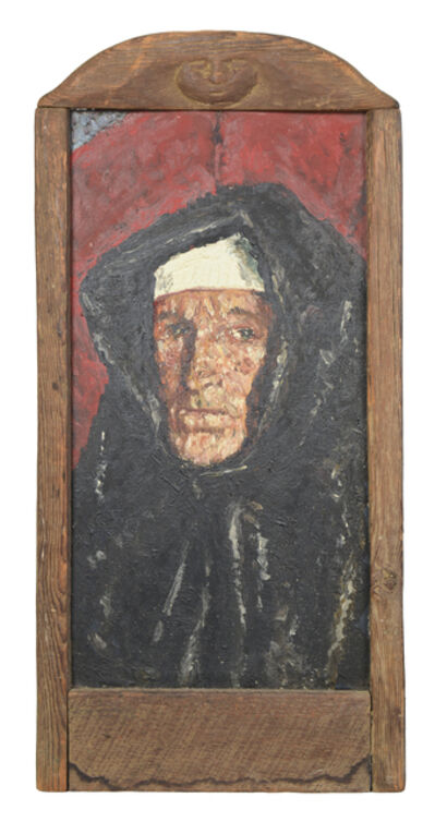 Samuel Rothbort, 'Self Portrait - Nun'