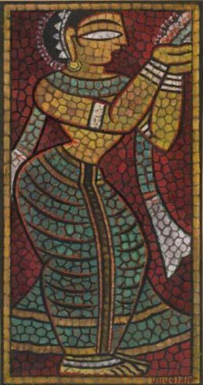 Jamini Roy, 'Untitled (Temple Dancer)'