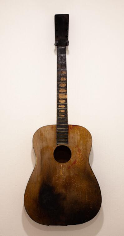 John Iwaszewicz, 'Black Burn Guitar', 2019