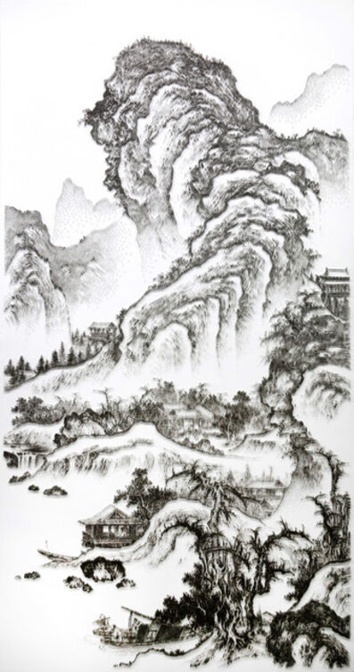 Chen Chun-Hao, 'Imitating the Landscape Painting by Anonymous Artist from Song Dynasty 3', 2016