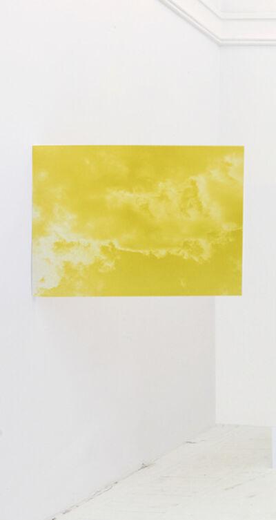 Johanna Jaeger, 'blue sun, yellow shy', 2016