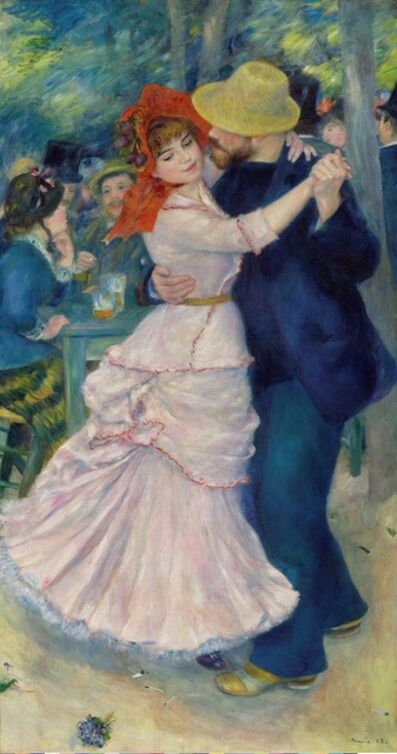 Pierre-Auguste Renoir, 'Dance at Bougival,', 1883