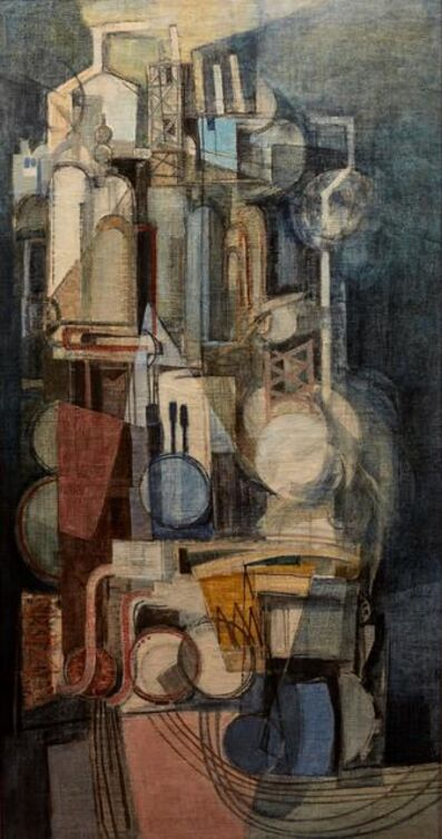 Afro (Afro Basaldella), 'Refinery', executed in 1951