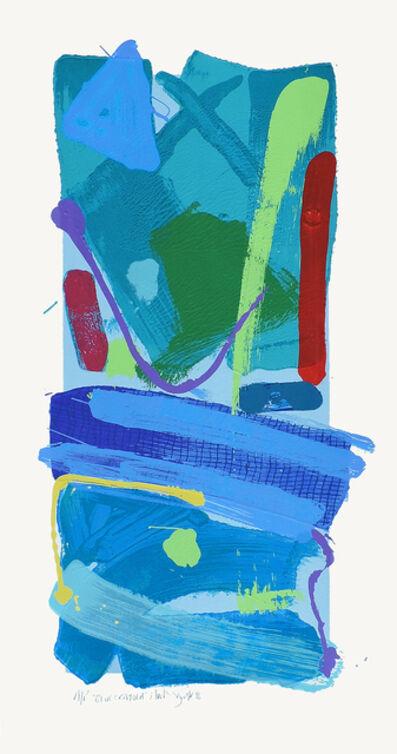 Anthony Frost, 'Blue Crayola', 2016