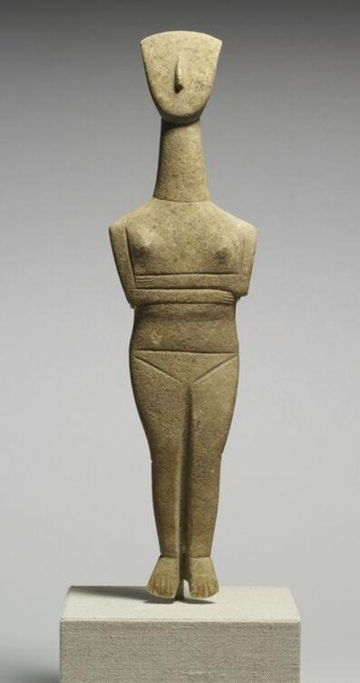 Goulandris Master, 'Cycladic Female Figurine', ca. 2500-2400 B.C.