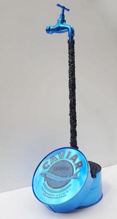 THOMAR, 'Caviar sculpture - blue ', 2019