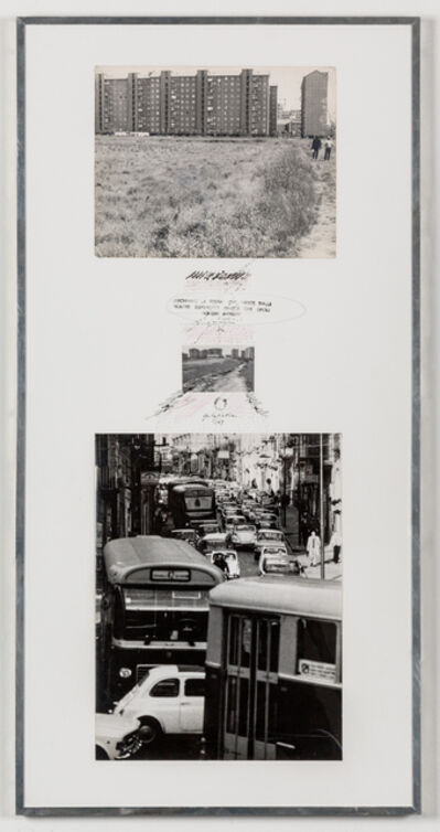Ugo La Pietra, 'Itinerari preferenziali', 1969