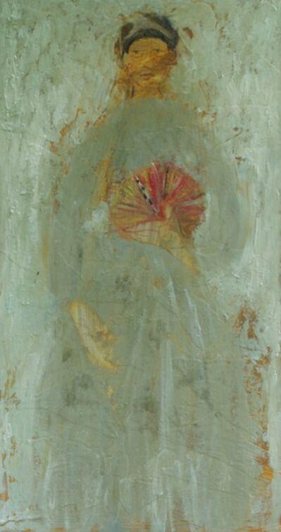 Helen Tabor, 'Girl with a fan', 2017
