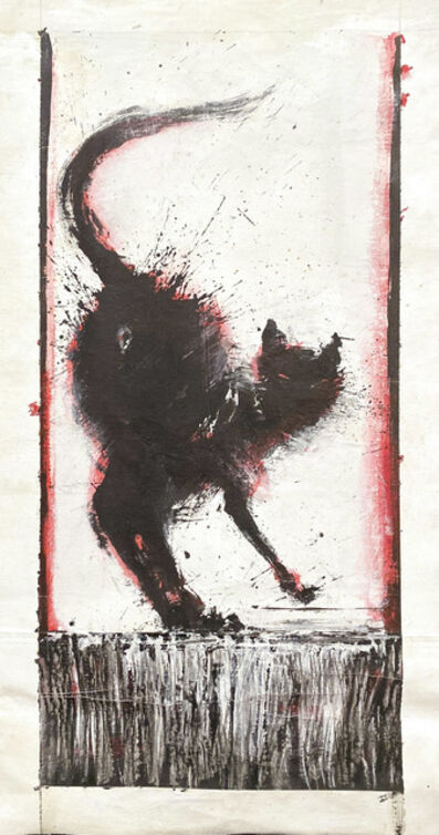 Richard Hambleton, 'Red Pussy', 1987