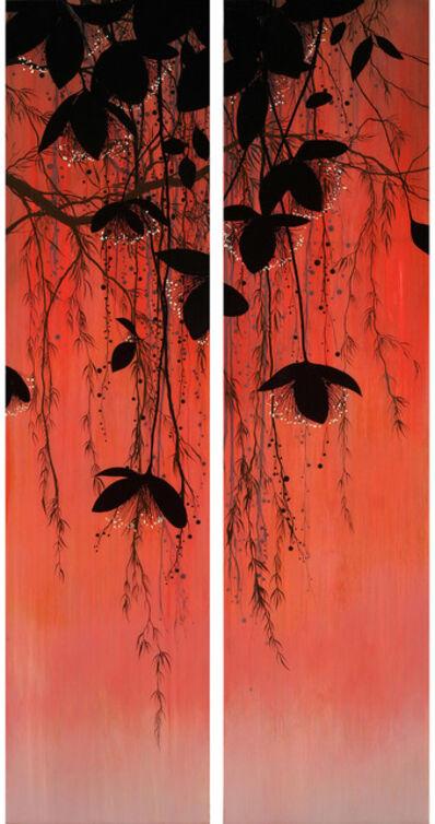 Ivy Jacobsen, 'Red Sky Blooms - Diptych', 2018