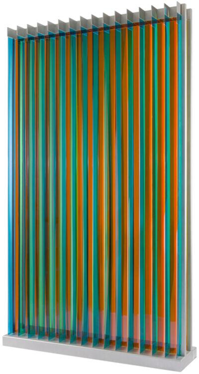 Carlos Cruz-Diez, 'Transchromie Dames A permutatio, 3', 2009