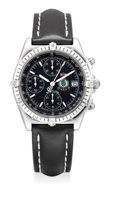 Breitling, 'A fine and attractive limited edition stainless steel chronograph Royal Air Force Hong Kong wristwatch with date, made to commemorate the 1997 Handover of Hong Kong to China. Number 1251 of a limited edition of 1997 pieces.', Circa 1997